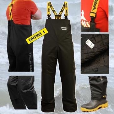 Team Vass 350 Winter Lined 'Heavy Duty, Waterproof' Bib and Brace 'Edition 4'