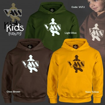 'Vass Kids Fishing' hoody (junior sizes available also)