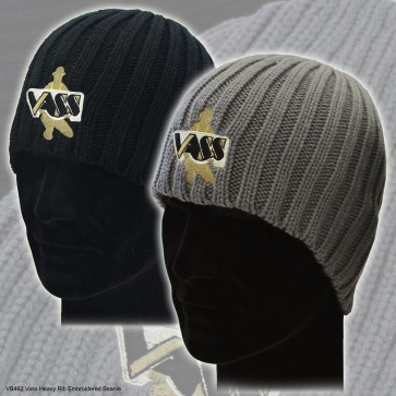 Vass quality embroidered beanie hat