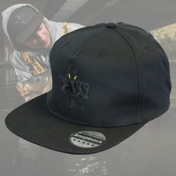 Vass 'Stealth Black' SnapBack Fishing Cap