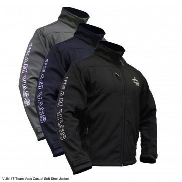 Team Vass Casual Soft-Shell Jacket