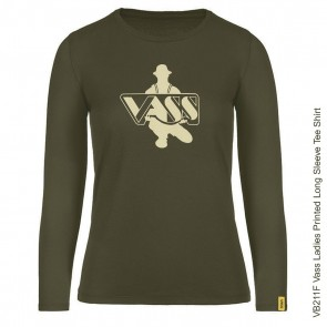 Vass Ladies Printed Long Sleeve Tee Shirt