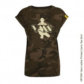 Vass Ladies Printed Camo Tee Shirt