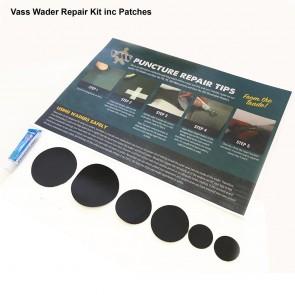 Vass Fishing Wader Repair Kit inc patches