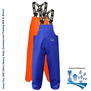 Vass-Tex 550 Extreme Waterproof Bib & Brace