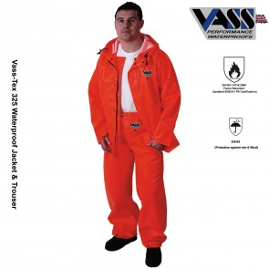Vass-Tex 325 Jacket with hood