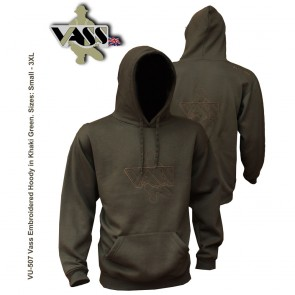Vass Embroidered Hoody 'Khaki Edition'