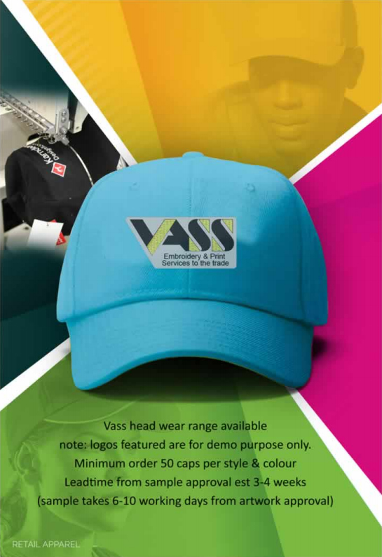 Vass Headwear Catalogue